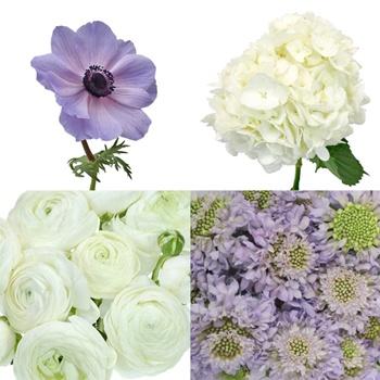 Lush Garden Romance DIY Flower Combo