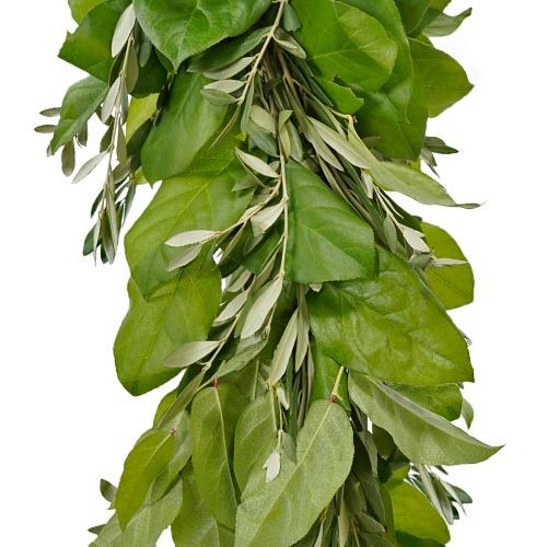 Olive and Salal Greens Garland