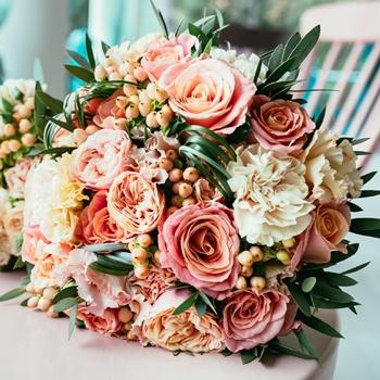 DIY Wedding Flower Combo Pack 100 Rose and 150 Carnation