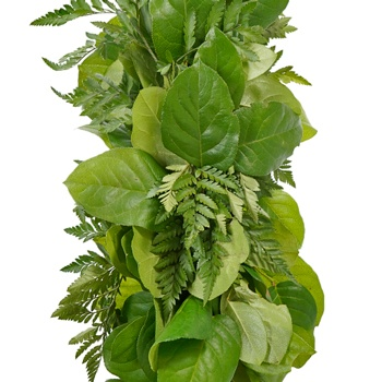 Salal and Leather Leaf Greens Garland