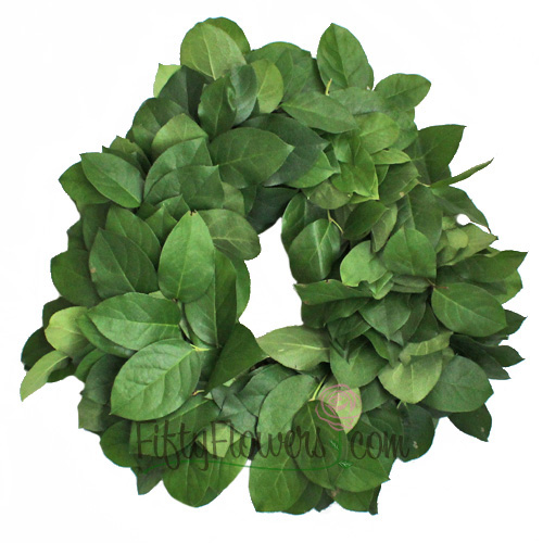 Fresh Salal Wreaths