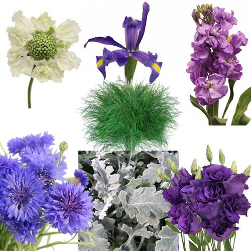 Vintage Garden DIY Wedding Flower Combo