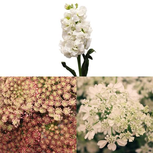 Vintage Wedding Flower Combo Pack