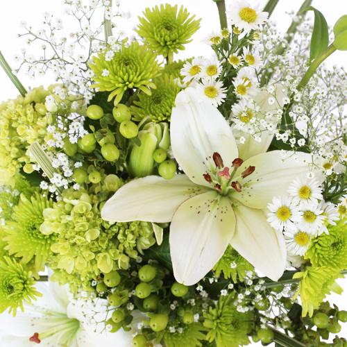 Wedding Decor Fresh White Flowers
