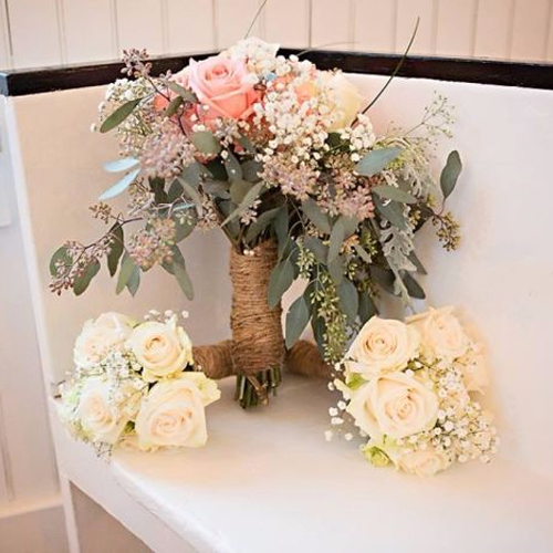 Wedding Flower Combo Pack 200 Roses and 300 Carnations