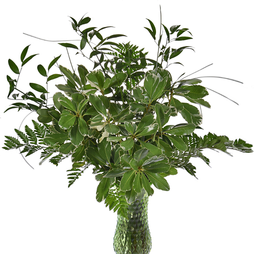Whimsical Chic Greenery Centerpiece