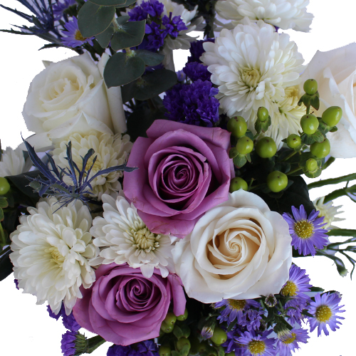 White Wedding Flowers Centerpieces: Purple And White Wedding Centerpieces