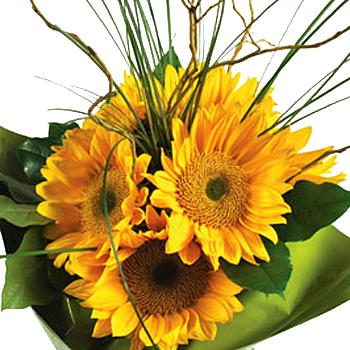 Sunflower Table Centerpieces Yellow