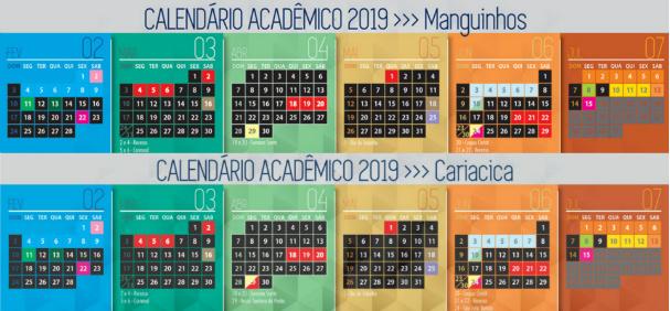 Calendario 2019 Ucl.Calendario Academico 2019 Abril E Maio Faculdade Ucl