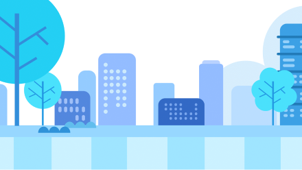Blue Neighborhood - The Neighborhood of Colors Personalized Book For Kids