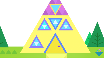 The Triangle House - The City of Shapes Personalized Book For Kids