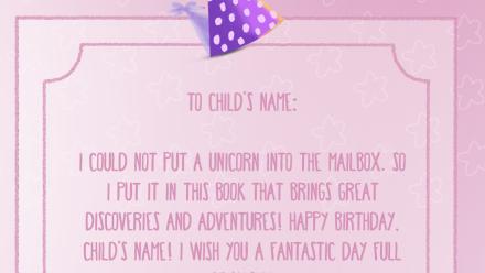 Fantastic Princess Birthday - Personalized Princess Book