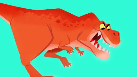 Tyrannosaurus Rex - Personalized Dinosaur Book