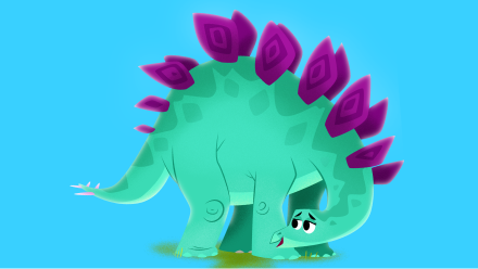 Stegosaurus - Personalized Dinosaur Book