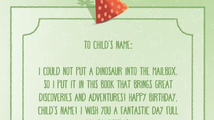 Fantastic Dinosaur Birthday - Playstories
