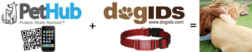 dogIDs PetHub QR Code Pet Tags & Collars