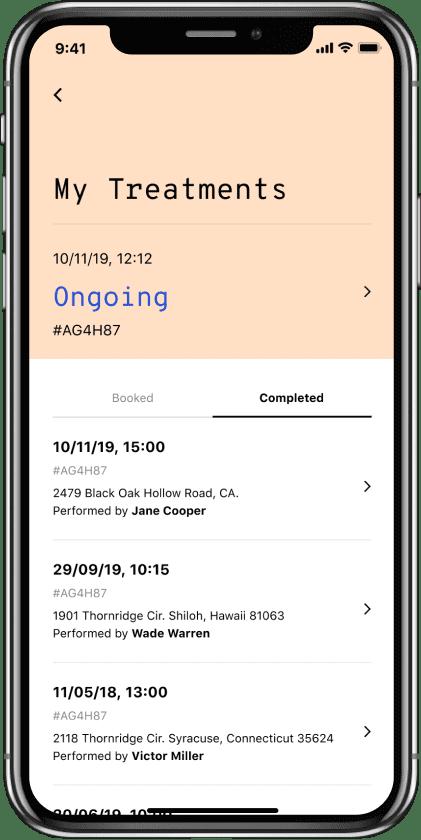 Stateside project | BOND Application device #3