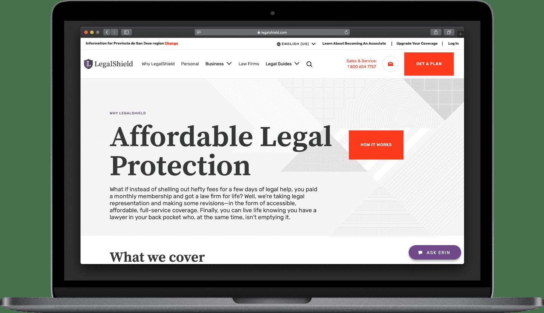Stateside project | LegalShield Team Augmentation device #1