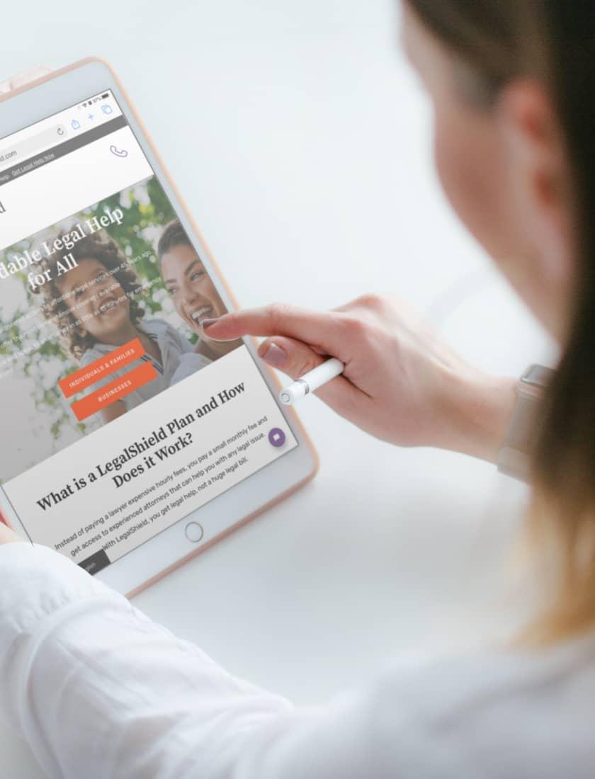 Legalshield Team Augmentation hero image | Stateside Team Augmentation project