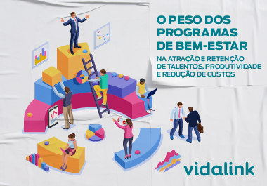 [INFOGRÁFICO] O peso dos programas de bem-estar na atração e retenção de talentos, produtividade e redução de custos