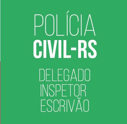 Curso para Concurso PC-RS Delegado, Inspetor e Escrivão