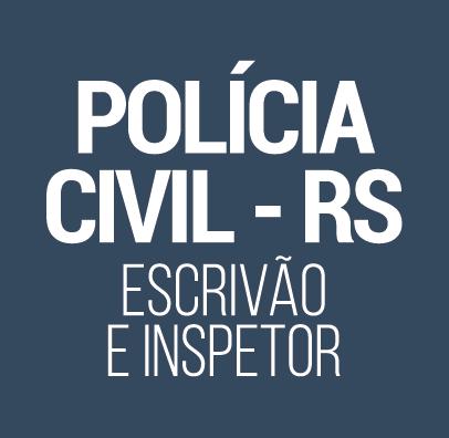 Curso para Concurso Polícia Civil RS Inspetor e Escrivão