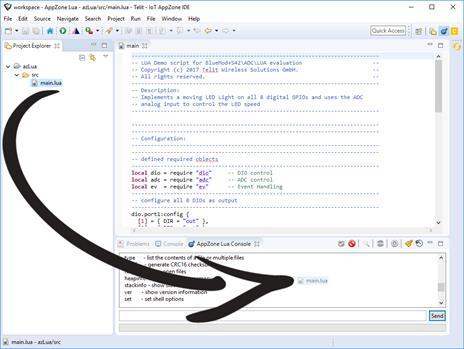 Run Lua Script