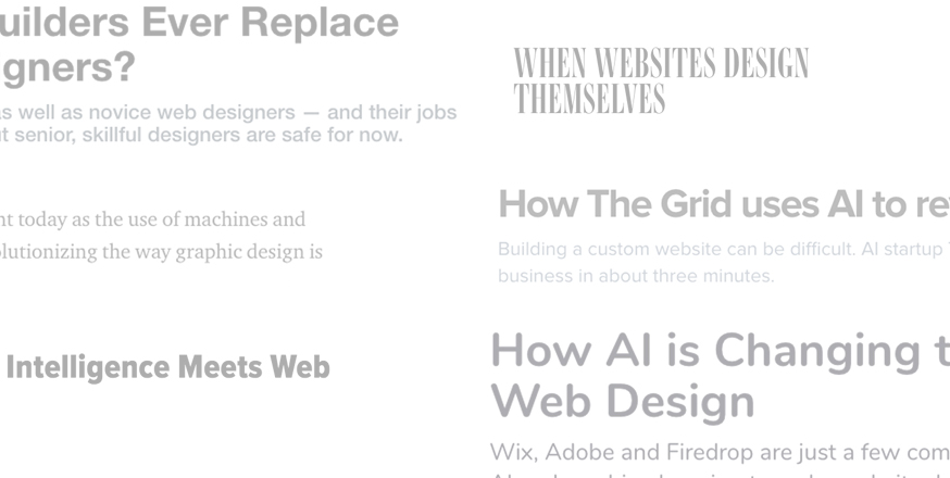 Web Design And AI: What's Real and What's Hype