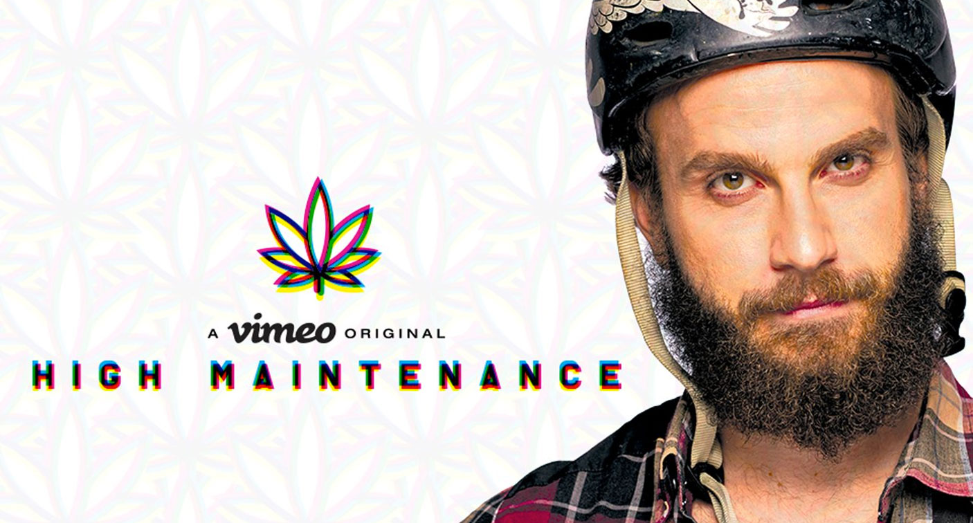 High Maintenance stars Ben Sinclair as a marijuana deliveryman in New York.