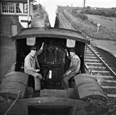 Train, Train conductor, Vintage Train, Train Black and White, Train engine, Train Tracks