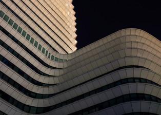 Building, Wavy Building, Archchitecture, White Building, Modern Building