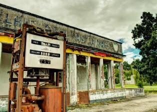 Old Gas Station, Old Gas Pump, Old Building, Abandoned Gas Station, vintage Gas Pump