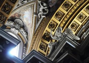 Cherub, Cherub on ceiling, Ceiling arches, Angles on ceiling, Decorative Ceiling
