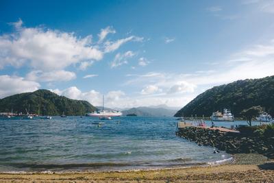ocean, sea, water, dock, beach, sand, island, boats, ship, sail, maritime, rocks