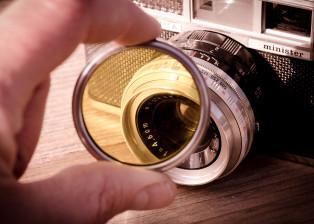 camera, cam, photo camera, lens, photography, hand, yashica, optics
