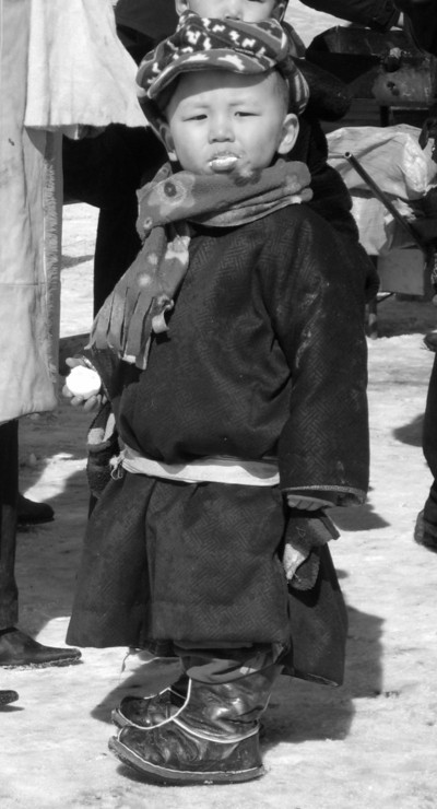 mongolia, mongolian, boy, kid, child, costume, traditional, garment, old, vintage