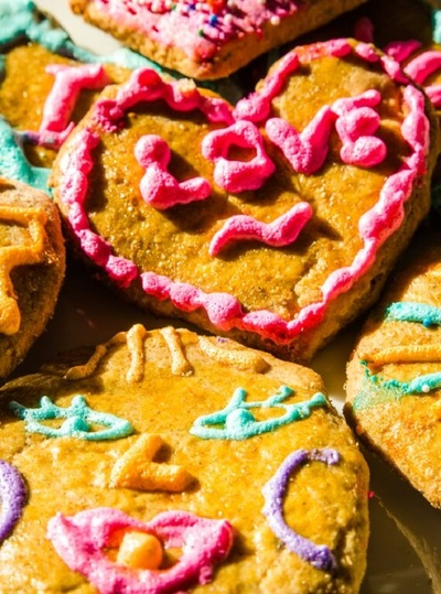 cookies, dessert, food, sweet, tasty, biscuits, colorful, baking, love, heart