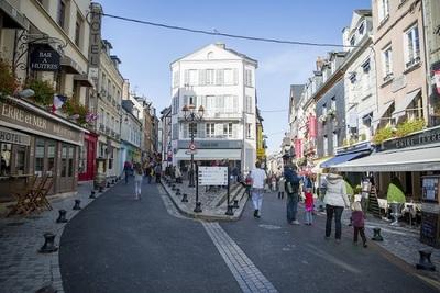 city, town, buildings, street, architecture, people, kids, avenue, shops