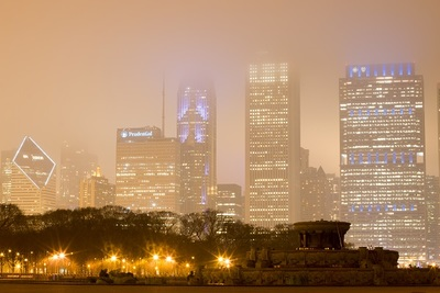 metropolis, city, modern, cityscape, night, skyscrapers, buildings, lights, sky, architecture, urban