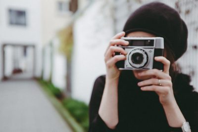 woman, girl, camera, cam, photography, photographer, female, vintage, taking, picture, hands