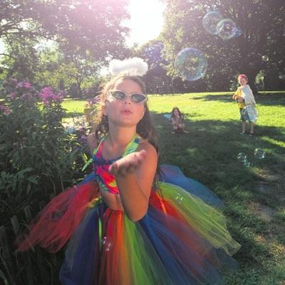 halloween, costumes, kids, children, fun, little, girl, fairy, childhood