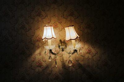 wall, lamp, lamps, light, home, decor, interior