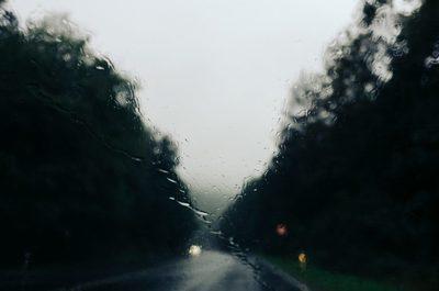 rain, raining, weather, road, driving, car, automobile, vehicle, raindrops, forecast