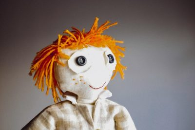 doll, puppet, toy, objects, handmade, fabric, eyes