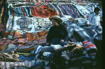 flea, market, bazaar, woman, handmade, carpets, vintage, rugs