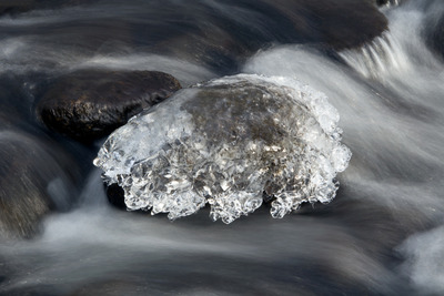 water, river, flow, black, white, nature, crystals, abstract, rapids, winter, frozen, ice