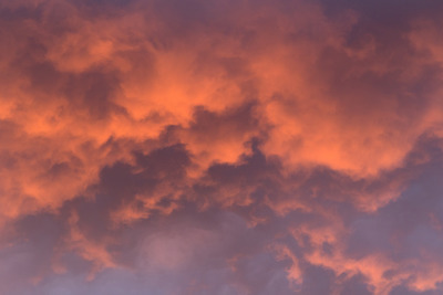 sky, clouds, skies, sunset, dusk, sundown, colorful, nature