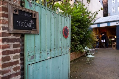 cafe, small, sign, door, terrace, brick, chairs, outdoor