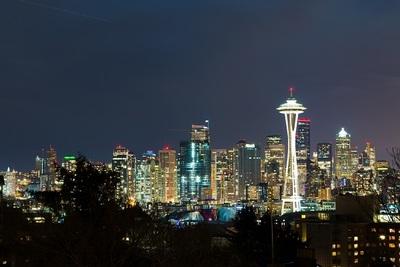 skyline, cityscape, night, sky, modern, city, tower, buildings, skyscraper, architecture