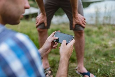 smartphone, games, mobile, phone, technology, iphone, outdoor, men, fun, play